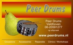 Peer drums